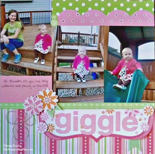 Giggle Layout by Wendy Kessler
