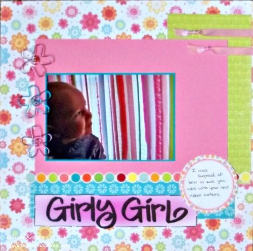 Girly Girl Layout by Wendy Kessler