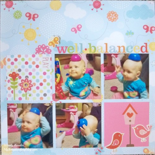 Well-Balanced Layout by Wendy Kessler