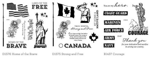 CTMH Patriotic Stamp Sets at WendyKessler.CTMH.com