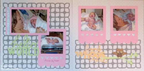 Hello World Layout by Wendy Kessler