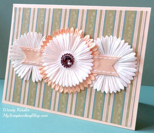 Flower Card by Wendy Kessler