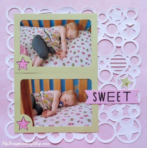 Sweet Baby Layout by Wendy Kessler