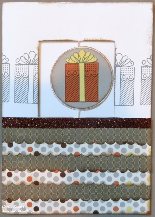 Gift Spin Card by Wendy Kessler