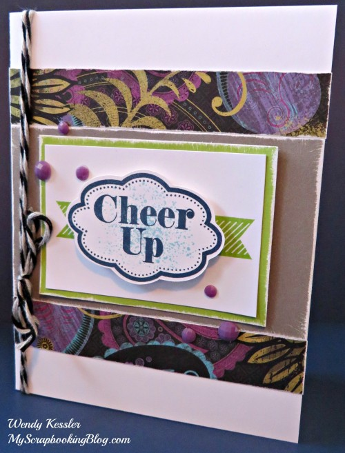 Cheer Up Card by Wendy Kessler