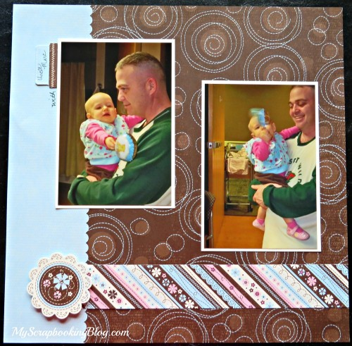 Uncle Marc Layout by Wendy Kessler