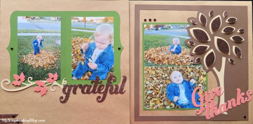 Give Thanks Fall Layout by Wendy Kessler