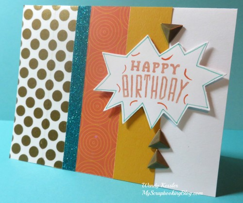 Cloud Nine Card 1 by Wendy Kessler