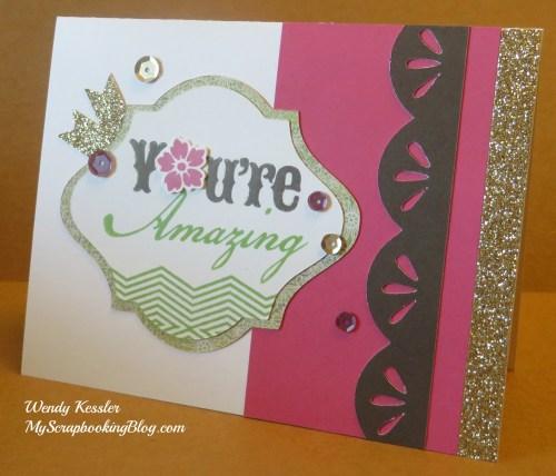 Ivy Lane Card 1 by Wendy Kessler