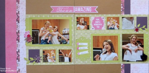 This is So Amazing Layout by Wendy Kessler
