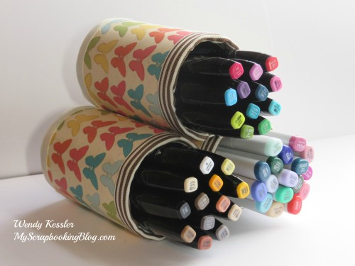 Marker Storage by Wendy Kessler