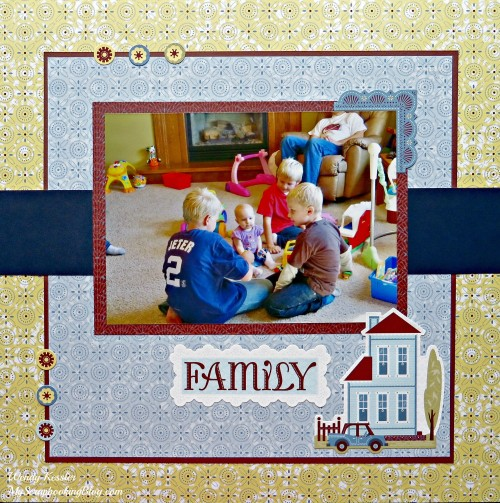 Family Layout by Wendy Kessler