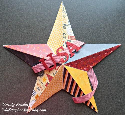 USA Decor Star by Wendy Kessler