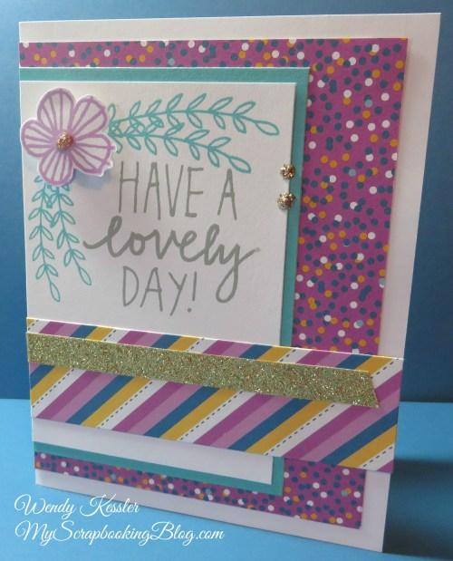 Lovely Day Card by Wendy Kessler