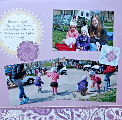 Parade Layout by Wendy Kessler