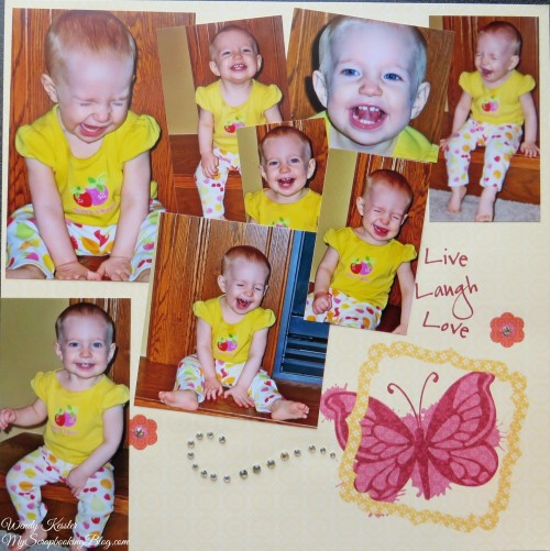 Laugh Layout by Wendy Kessler