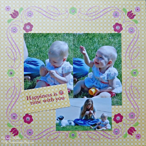 Happiness Layout by Wendy Kessler