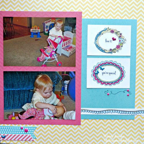 You're Special Layout by Wendy Kessler