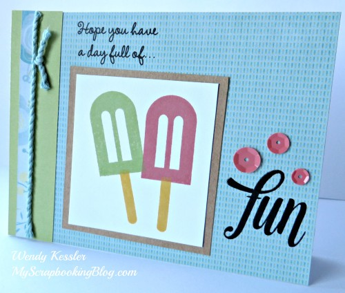 Blossom Card by Wendy Kessler