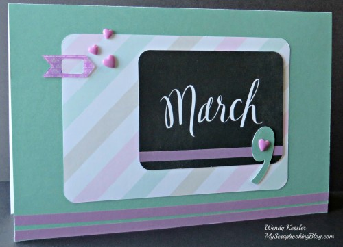 March Card by Wendy Kessler