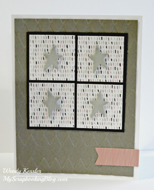 Stars Card by Wendy Kessler