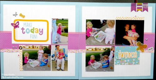 Make Today Fun Layout by Wendy Kessler