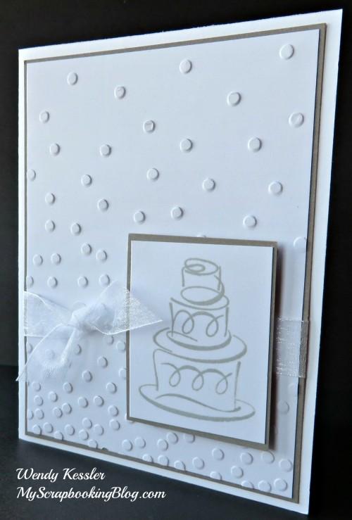 Wedding Card by Wendy Kessler