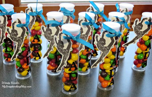 Dance Treat Tubes by Wendy Kessler
