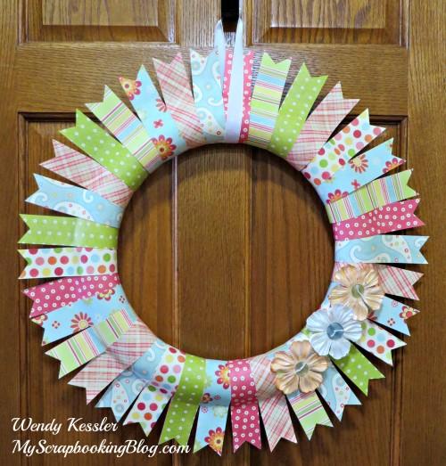Spring Wreath by Wendy Kessler