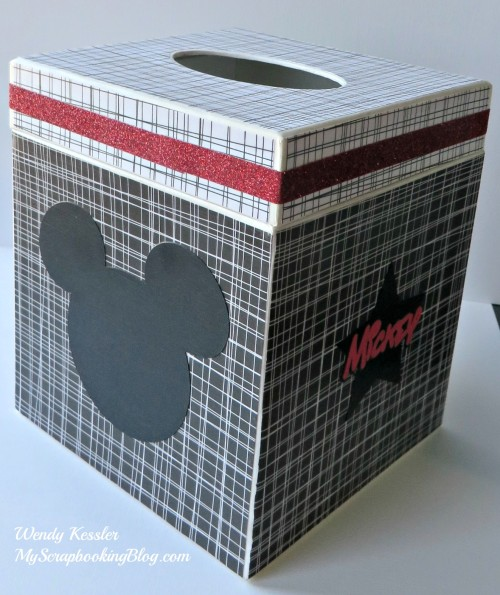 Mickey Mouse Kleenex Box by Wendy Kessler