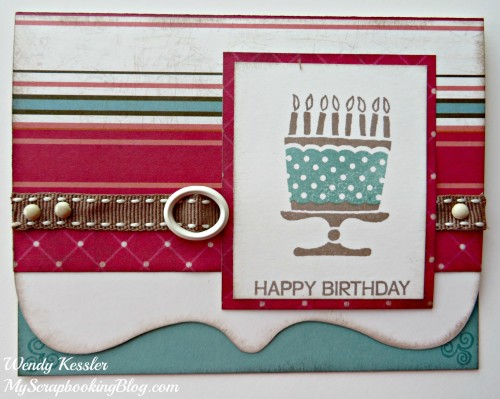 Cake Card by Wendy Kessler