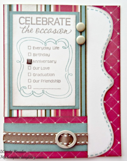 Occasion Card by Wendy Kessler