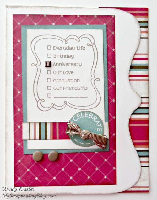 Checklist Card by Wendy Kessler