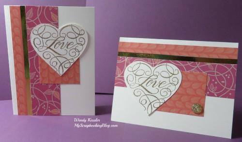 Love Cards by Wendy Kessler