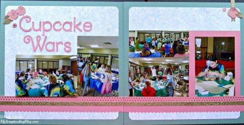 Cupcake Wars Layout by Wendy Kessler