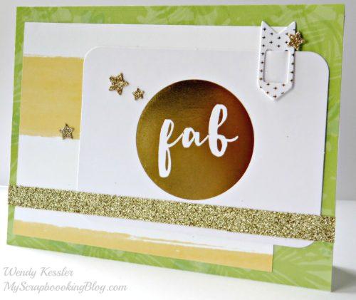 Fab Card by Wendy Kessler