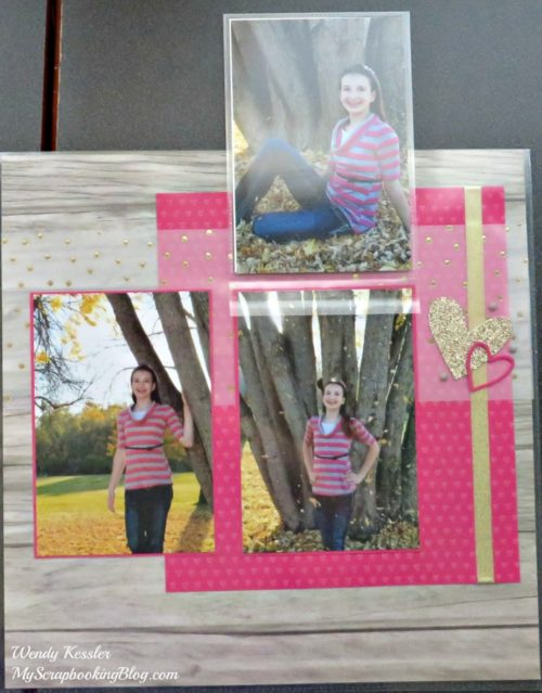 Life is Good Layout by Wendy Kessler