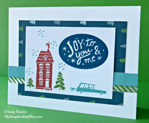 Joy to You & Me Card by Wendy Kessler