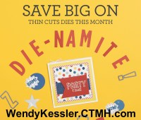 March Thin Cut Die Special