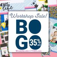 BOGO Workshop Special