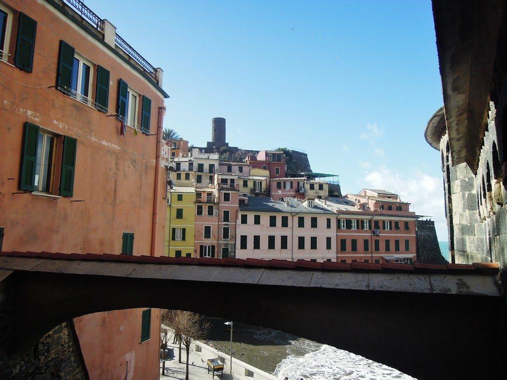 La Torre Doria del castello di Vernazza