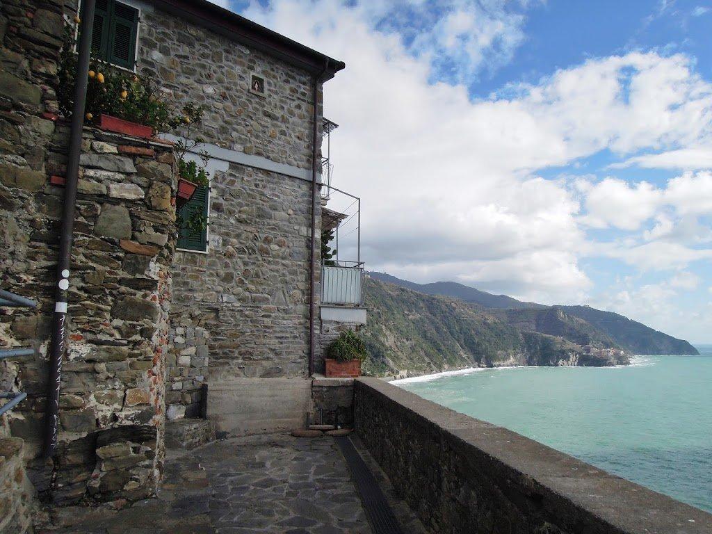 Una terrazza sul mare a Corniglia