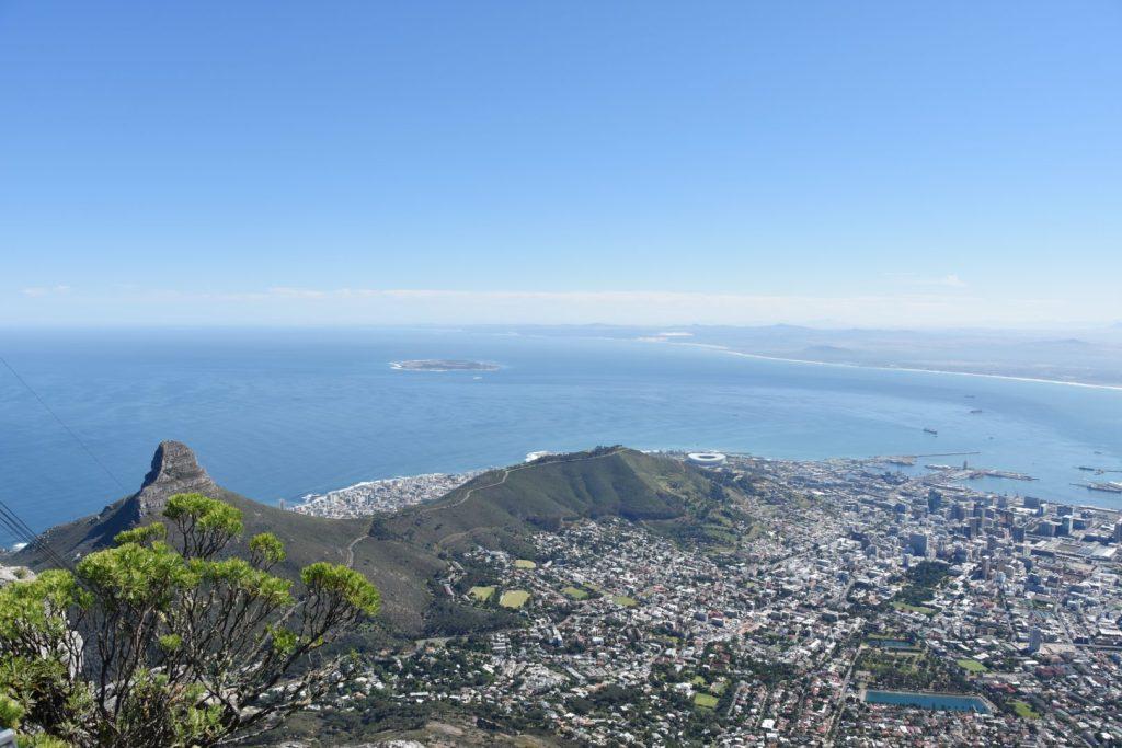 Panorama dalla Table Mountain Cable Car