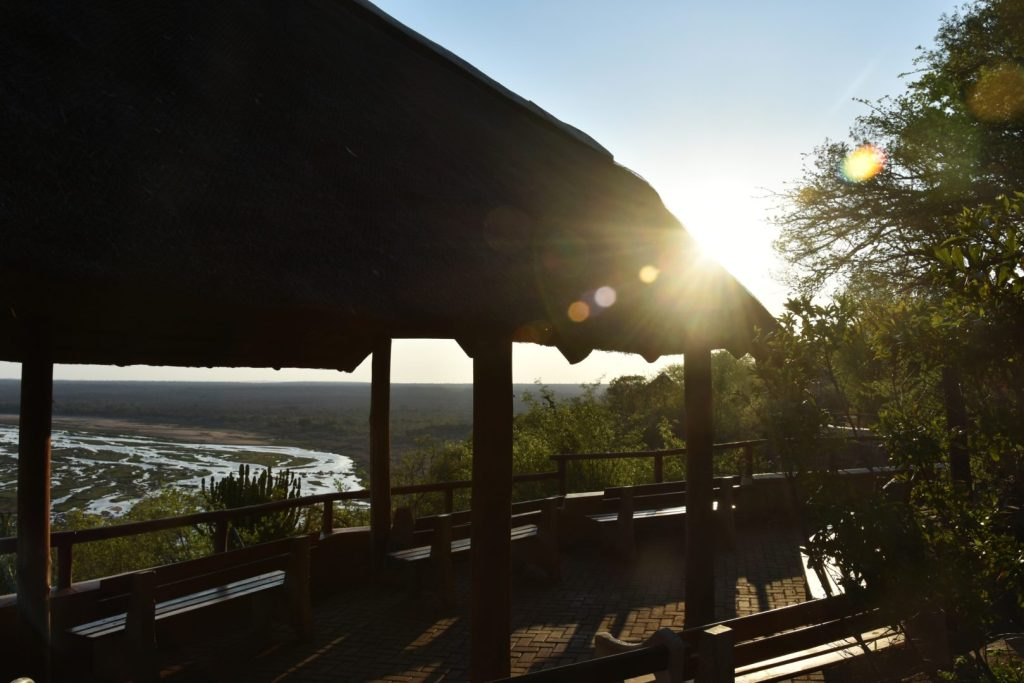 Tramonto all'Olifants Camp