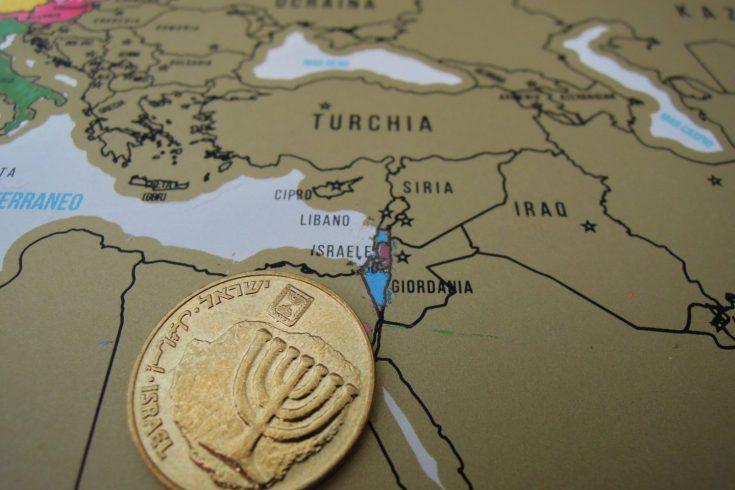 Mappa viaggio Israele