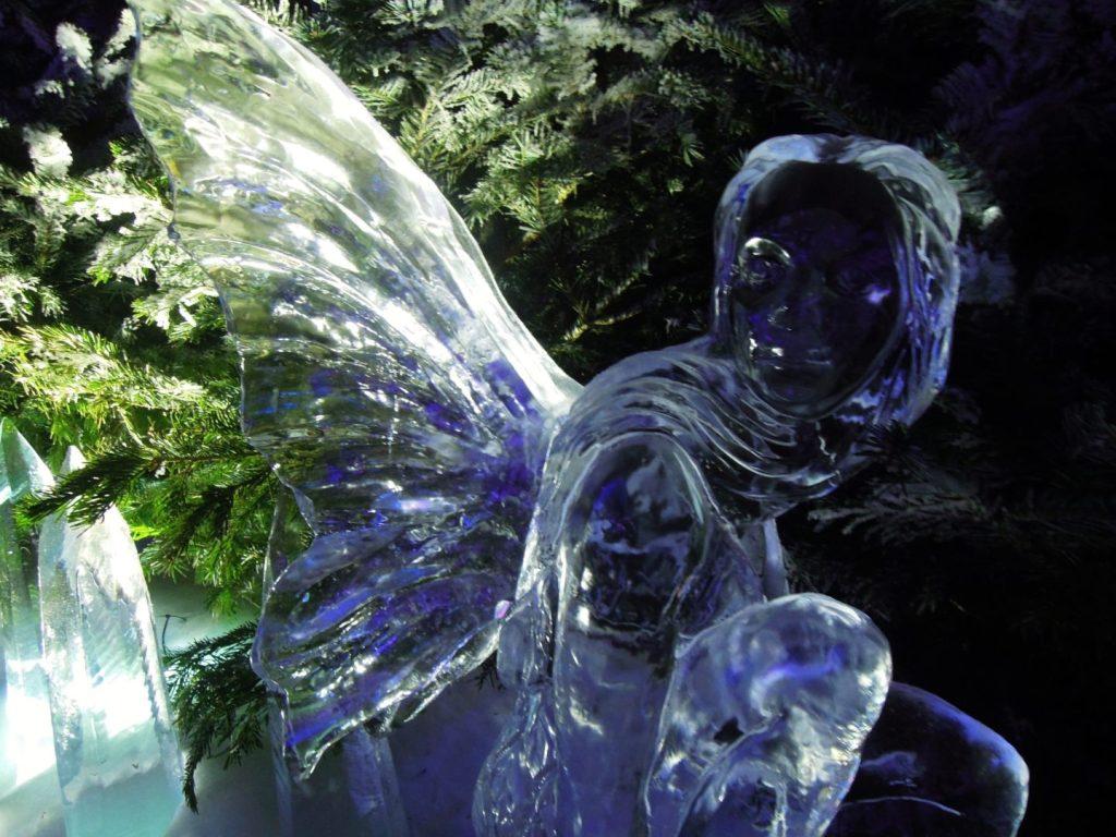 Sculture di ghiaccio a Winter Wonderland