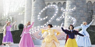 Alt_valses de princesas con motivo del 25 aniversario de Disneyland Paris
