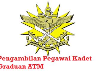 Pengambilan Pegawai Kadet Graduan ATM 2017