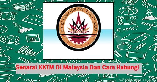 Senarai KKTM Di Malaysia