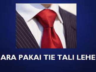 Cara Memakai Tali Leher